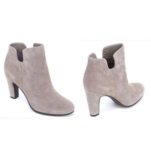 Sam Edelman Shelby Ankle Suede Leather Booties